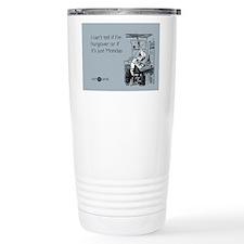Monday Hangover Stainless Steel Travel Mug
