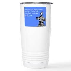 Somewhat Optimistic Travel Mug