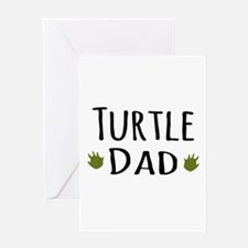 Turtle Dad Greeting Cards