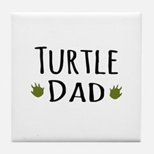 Turtle Dad Tile Coaster