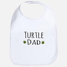 Turtle Dad Bib