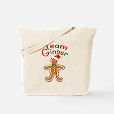 Team Ginger Gingerbread Tote Bag