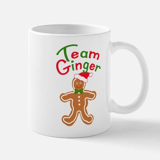 Team Ginger Gingerbread Mug