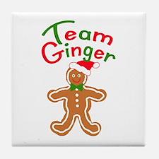 Team Ginger Gingerbread Tile Coaster