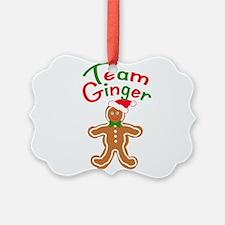 Team Ginger Gingerbread Ornament