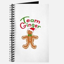 Team Ginger Gingerbread Journal