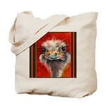 Tote Bag - 2 sided fun animal W/C by Mitzi Lai