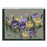Wall Calendar w Mitzi Lai's floral,animal painting