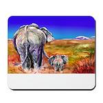 Mousepad with Mitzi Lai's watercolor- Just U & Me