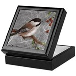 Box with Chickadees from Mitzi Lai's painting