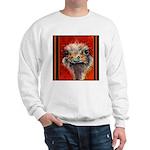 Sweatshirt-Just You & Me, Watercolor by Mitzi Lai