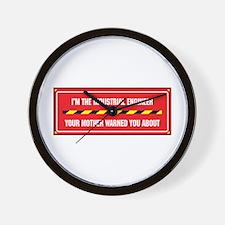 I'm the Engineer Wall Clock