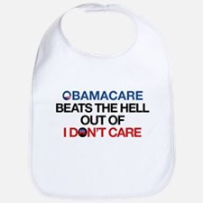 Obamacare Beats the Hell Out of I Don't Care Bib