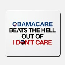 Obamacare Beats the Hell Out of I Don't Care Mouse