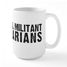 radical militant librarians wide Mugs