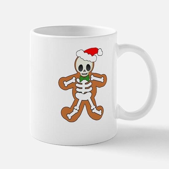 Cute Gingerbread Skeleton Man Mug