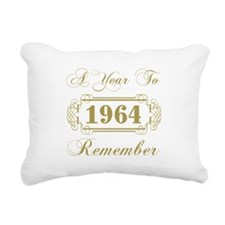 1964 A Year To Remember Rectangular Canvas Pillow