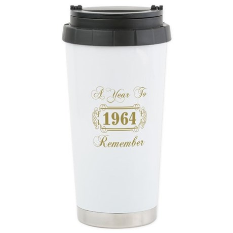 1964 A Year To Remember Stainless Steel Travel Mug