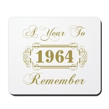 1964 A Year To Remember Mousepad