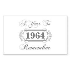 1964 A Year To Remember Decal