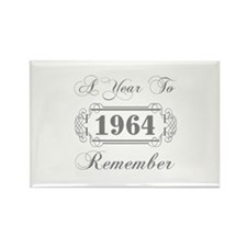 1964 A Year To Remember Rectangle Magnet (10 pack)