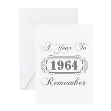 1964 A Year To Remember Greeting Card