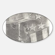 African American Soldier Decal