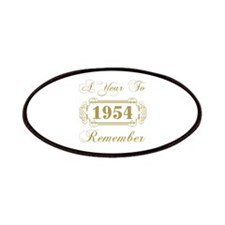 1954 A Year To Remember Patches