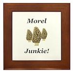 Morel Junkie Framed Tile