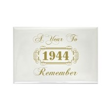 1944 A Year To Remember Rectangle Magnet