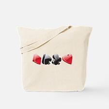 poker4 Tote Bag