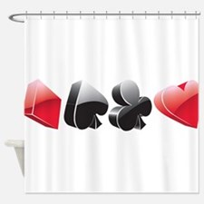 poker4 Shower Curtain