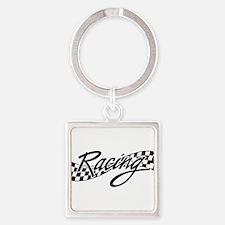 racing1 Keychains