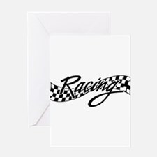 racing1 Greeting Cards