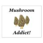 Mushroom Addict Small Poster