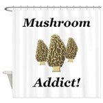 Mushroom Addict Shower Curtain