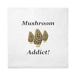 Mushroom Addict Queen Duvet