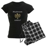 Mushroom Addict Women's Dark Pajamas