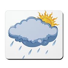 rainy1 Mousepad