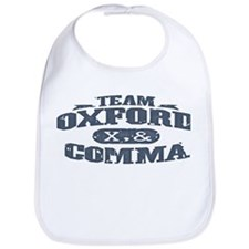 Team Oxford Comma Bib