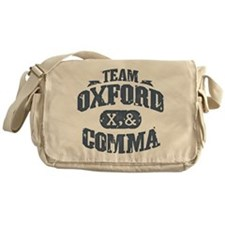 Team Oxford Comma Messenger Bag