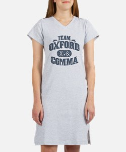 Team Oxford Comma Women's Nightshirt
