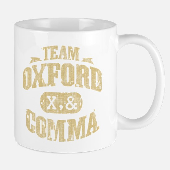 Team Oxford Comma Mug