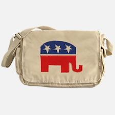 repubelephant1 Messenger Bag