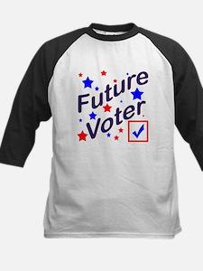 Future Voter Light Kids Baseball Jersey