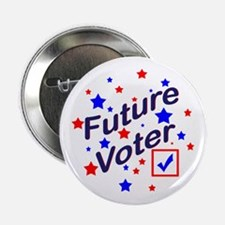 """Future Voter Light 2.25"""" Button (10 pack)"""