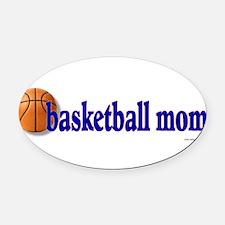 Unique Basketball mom Oval Car Magnet