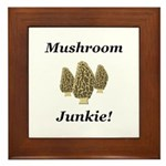 Mushroom Junkie Framed Tile