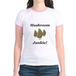 Mushroom Junkie Jr. Ringer T-Shirt