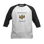 Mushroom Junkie Kids Baseball Jersey